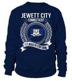 Jewett City, Connecticut Its Where My Story Begins T-Shirt #JewettCity
