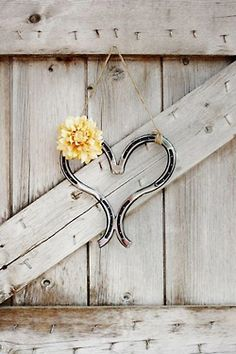 Heart & Horse shoes