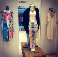 High fasion casual look @ Monafashionstore Bratislava Loving the colors