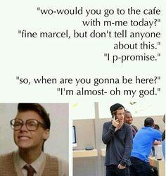 Marcel imagine I love him he's soo cute