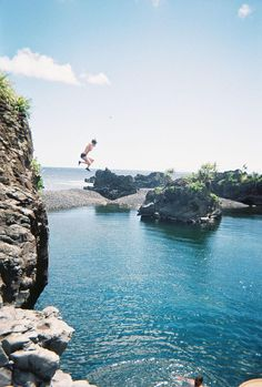 If bridge jumping is good, then cliff jumping must be so much better