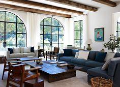 2017 AD 100 Best Interior Designers Atelier AM blue living room luxury homes Home Living Room, Living Room Designs, Living Spaces, Best Interior, Interior Design, Spanish Style Homes, Spanish Style Interiors, Living Room Inspiration, Home Fashion