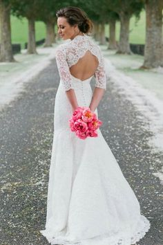 Corina Snow gown 2015
