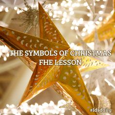 The Symbols of Christmas FHE Lesson | Christmas FHE Lesson | Christmas FHE Ideas | Family Home Evening Activities