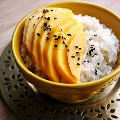 Mangoes & Coconut Sticky Rice