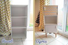 Customisation d'une petite étagère Conforama DIY