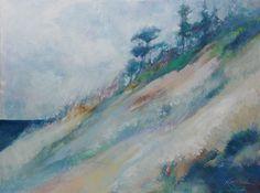 """Michigan Bluff"" 24 x 18, acrylic on canvas.  Ken Heiden"
