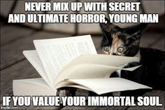 Cats + The Horror of H.P. Lovecraft = H.P. Lovecat