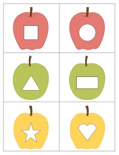 Tvary - jablíčka