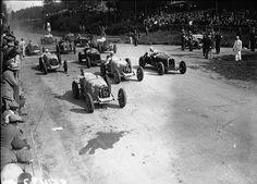 GP Belgium (Spa) 1931 , Alfa Romeo 8C 2300 #16 , Driver Birkin/Lewis , Alfa Romeo 8C 2300 #2 Minoia/Minozzi , Alfa Romeo 8C 2300 #10 Nuvolari/ Borzacchini , Bugatti T51 #4 Grover-Williams/Conelli , Bugatti T51 #6 Divo/ Bouriat , Bugatti T51 #12 Varzi / Chiron , Mercedes SSK #8 Stoffel / Iwanovsky , Bugatti T51 #18 Wimille /Gaupillat.......Race winner was car #4