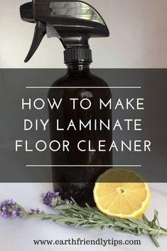 Laminate Flooring Ingredients for DIY Laminate Floor Cleaner: Glass spray bottle 5 ounces of white vinegar 5 ounces of rubbing alcohol 5 ounces of. Laminate Flooring Cleaner, How To Clean Laminate Flooring, Diy Wood Floors, Cleaning Wood Floors, Natural Wood Flooring, Cleaning Painted Walls, Diy Flooring, Homemade Laminate Floor Cleaner, Cleaning Laminate Wood Floors