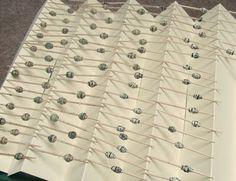Making paper bead drying rack
