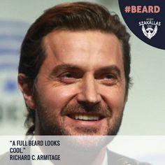A full beard looks cool. Richard C. Beard Look, Full Beard, Online Sites, Beard Care, Looks Cool, Bearded Men, Beards, Cool Stuff, Best Deals