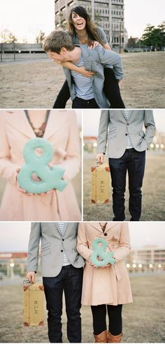 peach mint and grey
