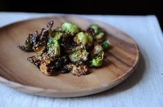 Blistered brussel sprouts....had these last weekend at Bodega Taco Bar in CT and they were amazing.  Thinking I will give this recipe a whirl.
