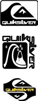 Quiksilver Logo Black Quiksilver logo...