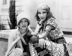 Lupe Velez and Dolores del Rio, the two Latina film stars of the silent era. They also both slept with Marlene Dietrich.