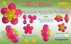 decorações com balões passo a passo