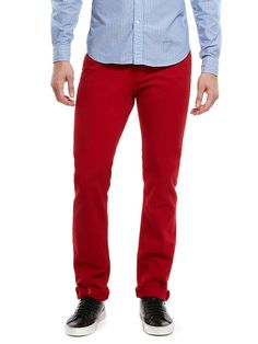 I don't think i could pull this off.    Kane Color Crafted Slim Straight-Leg Jeans by J Brand on Gilt
