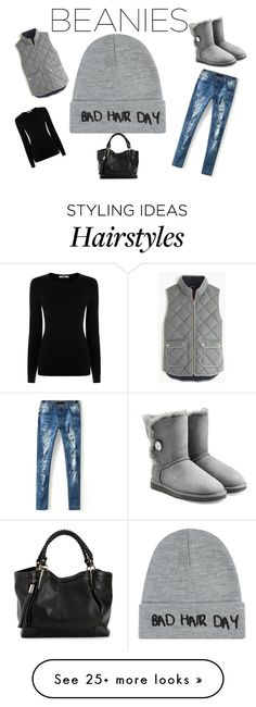 """""""Bad hair day"""" by marriottkaren on Polyvore featuring Local Heroes, Oasis, J.Crew and UGG Australia"""