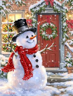 Snow Place Like Home for a Snowman Christmas Scenes, Christmas Pictures, Christmas Snowman, Winter Christmas, All Things Christmas, Christmas Time, Christmas Crafts, Christmas Decorations, Xmas
