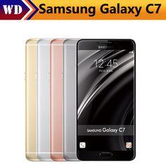 Cheap Samsung galaxy c7 telefono mobile android6.0 4 gb ram 32/64 gb di rom 16mp fotocamera 5.7 pollice astuto del telefono cellulare, Compro Qualità Telefoni cellulari e smartphone direttamente da fornitori della Cina: Samsung galaxy c7 telefono mobile android6.0 4 gb ram 32/64 gb di rom 16mp fotocamera 5.7 pollice astuto del telefono cellulare