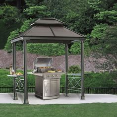 Exterior Best Grill Gazebo Canopy Replacement from Grill Gazebo For Backyard & OUTDOOR GRILL CANOPY GAZEBO TENT GARDEN PATIO SHELTER BBQ COVER ...