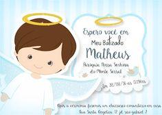 Lollita Cereja: Convite Personalizado Batizado