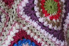 Ergens in juli schreef ik een post over deze granny's. http://rosabears.blogspot.nl/2014/07/stapelen-metufos.html En daa...