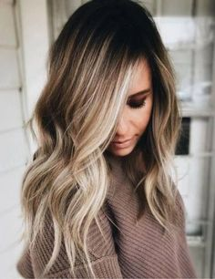Hairstyles hair ideas Balayage and ombre hair Hair Color Ideas & Trends for 2018 Stylish and attractive - Ombre Hair Brown Ombre Hair, Brown Blonde Hair, Long Ombre Hair, Winter Blonde Hair, Gold Blonde, Balayage Hair Brunette With Blonde, Blonde Honey, Brunette Ombre, Caramel Blonde