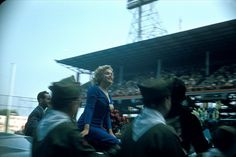 MM at Ebbets, before a soccer match between the US National Team and the Israeli Hapoel team