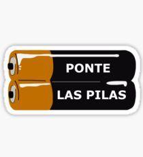 Pegatina Ponte Las Pilas