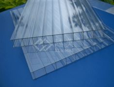 China Polycarbonate hollow sheet catalog of Double Walls Polycarbonate Sheet Top PC Sheet, Colored Polycarbonate Sun Panels for Bus Stop Roofing Sheet provided by China manufacturer - Jiangsu Demine New Material Co. Building A Pergola, Pergola With Roof, Wooden Pergola, Covered Pergola, Pergola Plans, Greenhouse Plans, Polycarbonate Roof Panels, Pergola Canopy, Pergola Cover
