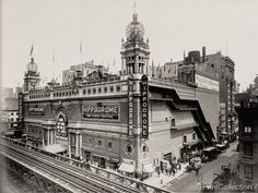 The Hippodrome Theater in New York City, was a theatre from 1905 to 1939, located on Sixth Avenue between 43rd and 44th Streets. It was called the world's largest theatre by its builders and had a sea