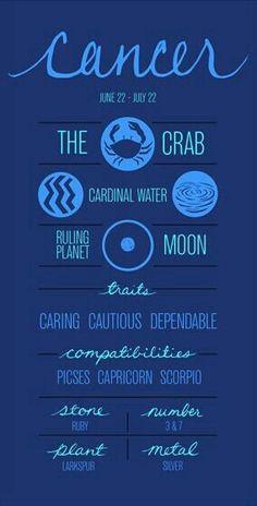 I am a Cancerian Cancer Horoscope, Horoscope Signs, Astrology Signs, Cancer Zodiac Symbol, Cancer Zodiac Signs, Astrology Houses, Cancer Astrology, Scorpio Zodiac, My Zodiac Sign