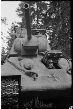 Captured soviet tank using in the Finnish Tank Destroyer, Ww2 Tanks, World Of Tanks, German Army, Harbin, Armored Vehicles, War Machine, Military History, World War Ii