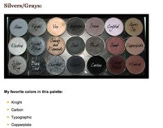 Mac Palette Gray and Black