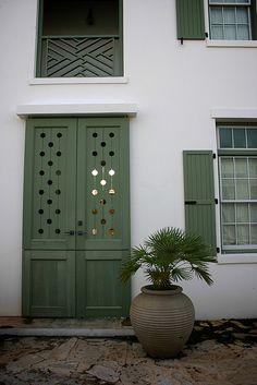 Shutter door design