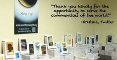 Thank YOU all book givers, you've been wonderful! You're the most important part!
