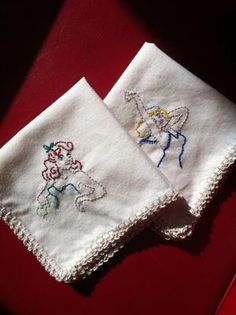 pinup hankies embroideri
