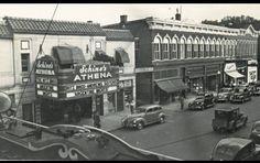 Court Street, Athens, Ohio 1940's
