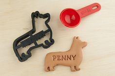 Corgi Cookie Cutter Pet  Custom Treat Personalized