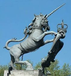 Unicorn - The National Symbol of Scotland