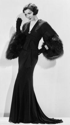 Claudette Colbert 1930s www.vintageclothin.com