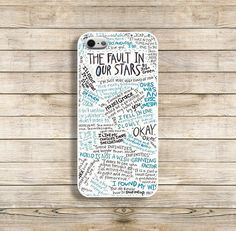 The fault in our stars case. The fault in our stars phone case iphone4/4s iphone5/5s B052 on Etsy, $9.99