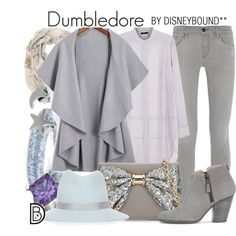 Dumbledore by leslieakay on Polyvore featuring Stills, Frame Denim, rag