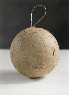 "Paper Mache Balls 3""/ 80mm (3 balls/pkg) $3.99 pkg/ 3 pkgs for $2 pkg"