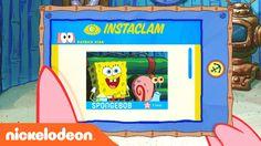 SpongeBob SquarePants | Patrick Checks His Instaclam | Nick