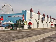 Wonderland Pier located in Ocean City New Jersey.  Damon Bready Real Estate Agent Ocean City, NJ - RE/MAX Jersey Shore
