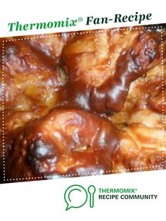 Sticky Chicken by PonderosaGirls. A Thermomix ® recipe in the category Main dis. Sticky Chicken by Clone Recipe, Meat Recipes, Cooking Recipes, Healthy Chocolate Snacks, Honey And Soy Sauce, Healthy Mummy, Sticky Chicken, Easy Healthy Dinners, Chicken